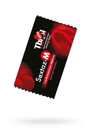 Крем возбуждающий Ты и Я  ''Sextaz-M'' для мужчин 1,5 г,20 шт в упаковке