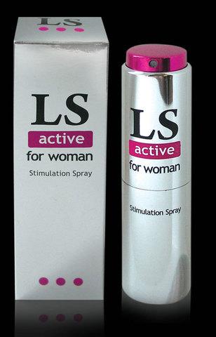 LOVESPRAY ACTIVE спрей для женщин стимулятор оргазма 18мл.