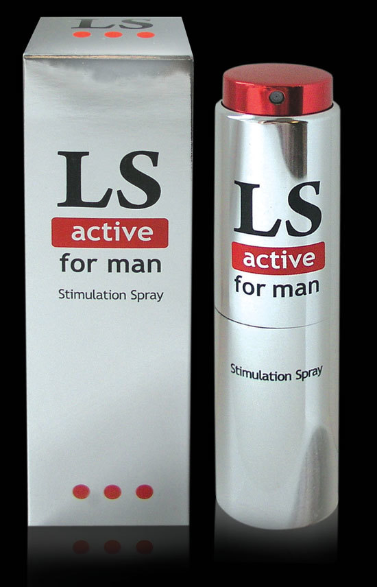 LOVESPRAY ACTIVE спрей для мужчин стимулятор  18мл. фото
