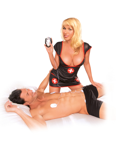 Электро секс устройство с пультом управления Shock Therapy Kit