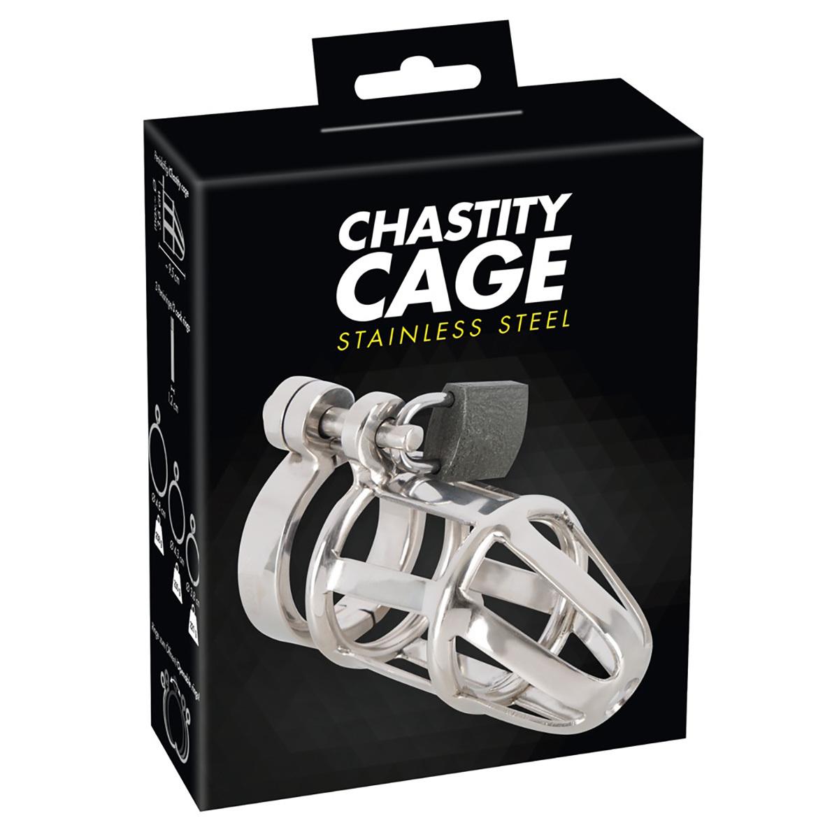 Мужской пояс верности Chastity Cage фото
