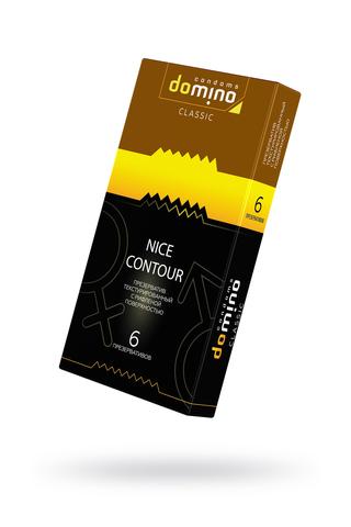 Презервативы Luxe DOMINO CLASSIC Nice Contour 6 шт, 18 см