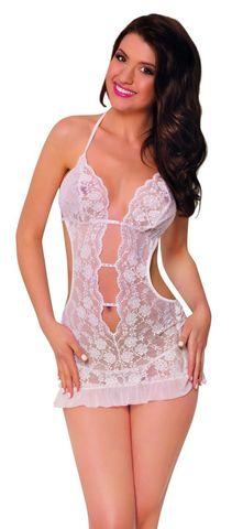 Ночная сорочка и трусы SoftLine Collection Ursula, белый, M/L
