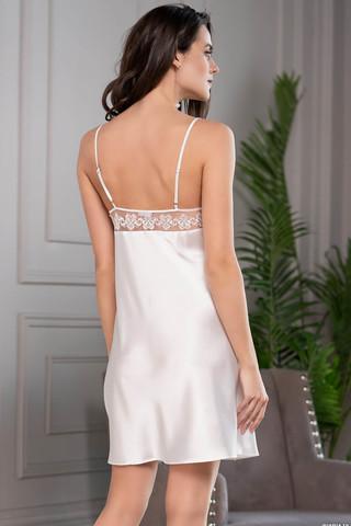 Короткая сорочка Mia-Amore на тонких бретелях с подрезом под грудью