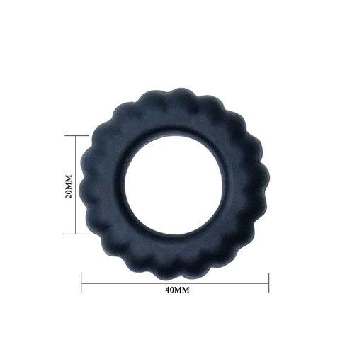 Эрекционное кольцо TITAN с крупными ребрышками
