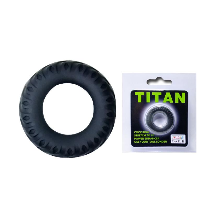 Эрекционное кольцо TITAN имитация автомобильной шины фото