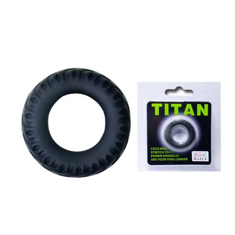 Эрекционное кольцо TITAN имитация автомобильной шины