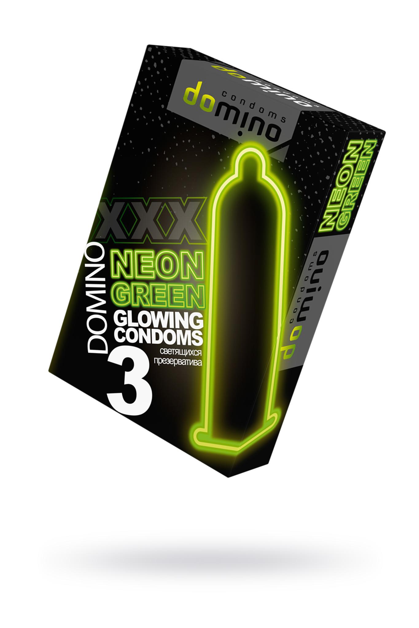 Презервативы Luxe DOMINO  NEON  №3 фото