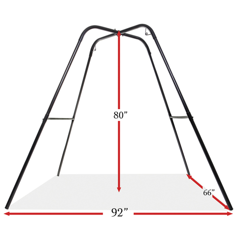 Напольный каркас для качелей Swing Stand - Black
