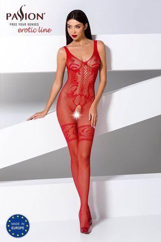 Боди-комбинезон BS069 красного цвета