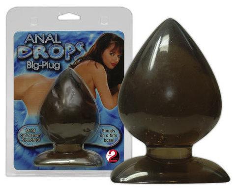Анальная пробка каплевидной формы Anal Drops Big-Plug