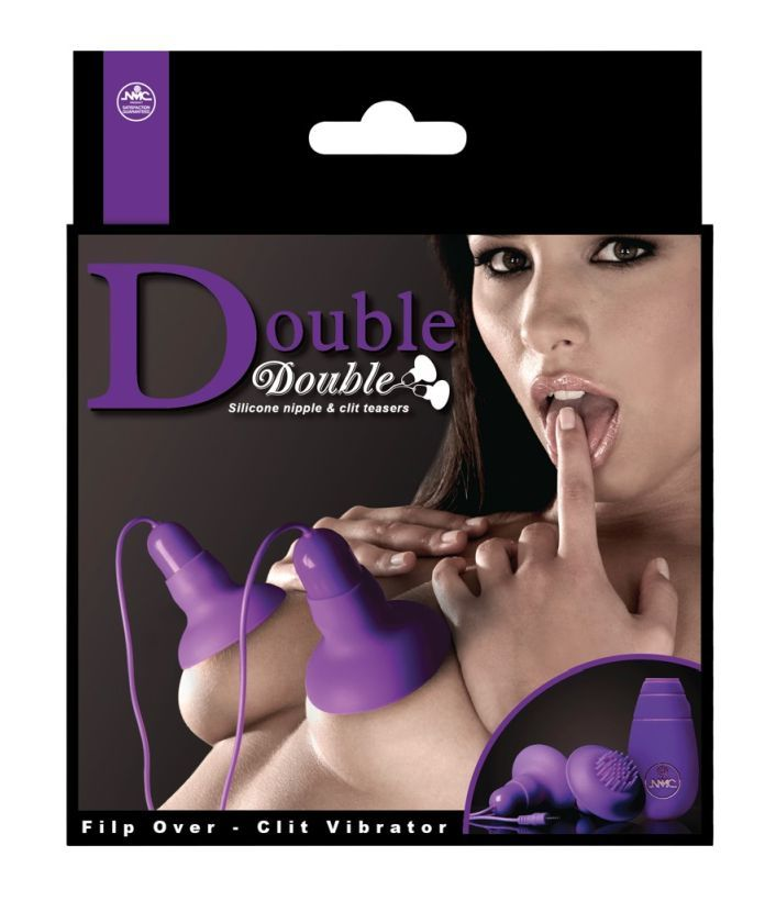 Вакуумные вибростимуляторы для сосков и клитора с выносным пультом Nipple and Clitoris by NMC фото