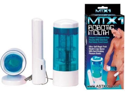Мастурбатор MTX1 ROBOTIC MOUTH с поступательными движениями