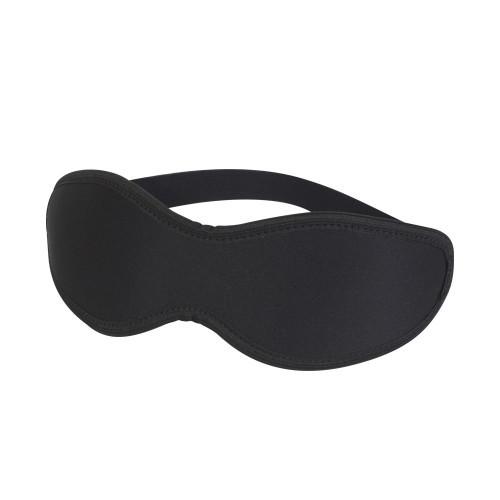 Неопреновая черная маска на глаза фото