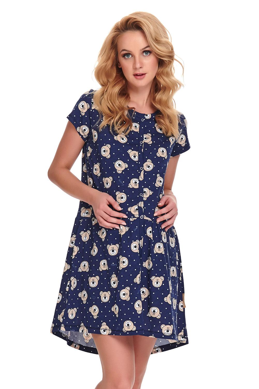 Сорочка свободного кроя выполнена из принтованного хлопкового полотна высшего качества фото