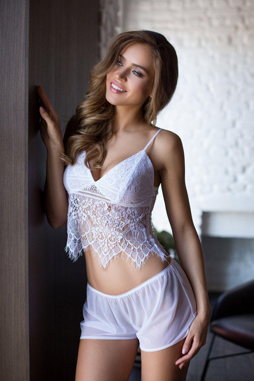 Комплект домашний женский из топа и шорт фото