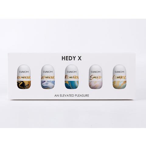 Hedy X5 Mixed Набор из 5 мастурбаторов с разной формой