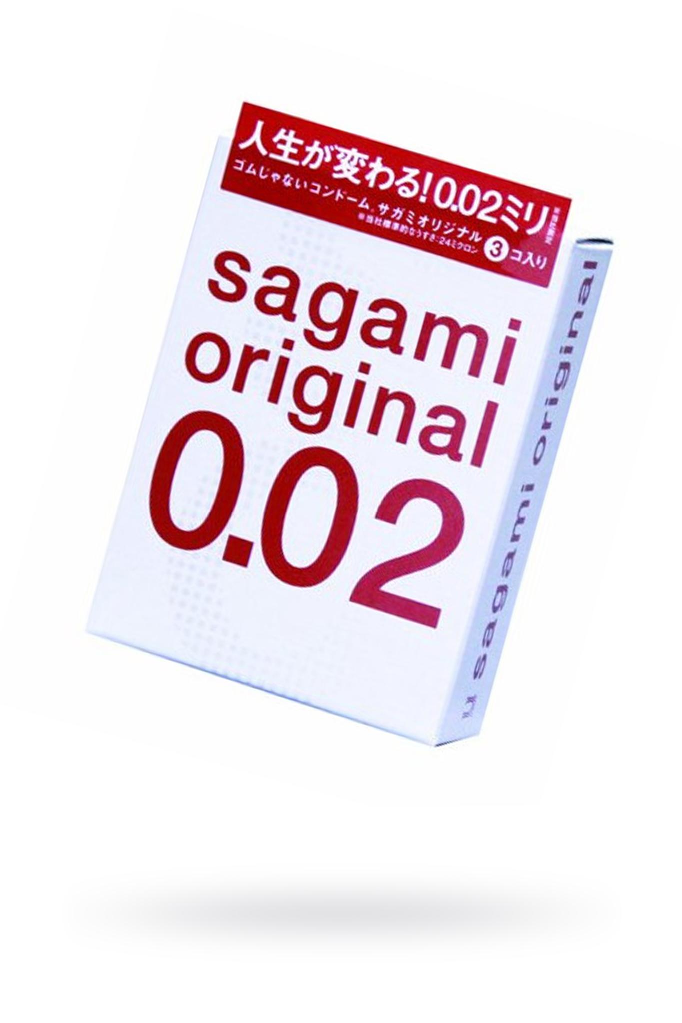 Презервативы Sagami Original 0.02  УЛЬТРАТОНКИЕ,гладкие №3 фото