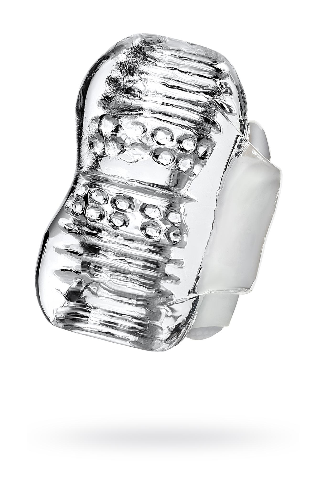 Мастурбатор нереалистичный Lingam by TOYFA  Khani, TPE, Прозрачный, 9 см фото